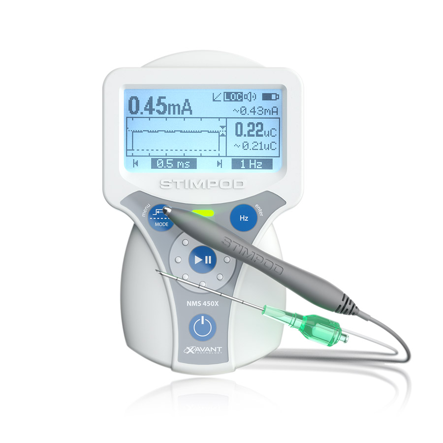 Stimpod NMS450X Nerve mapping probe and needle